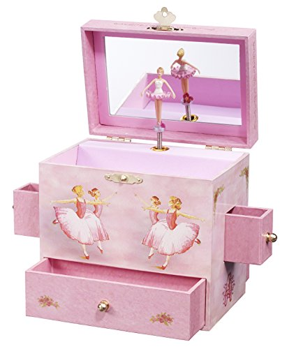 Enchantmints Ballerina Musical Jewelry Box Ballerina Treasure Music Box