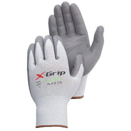 Cut Resistant Gloves, Gray, XL, PK12