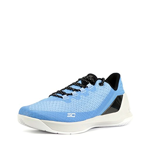 Under Armour Herren Sneaker Black White 006 41.5 blue black 475