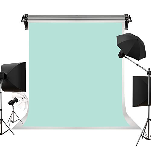 Kate 5x7ft(1.5x2.2m) Light Green Backdrop Portrait Photography Backdrops Mint Green Abstract Background Blue Green Photography Studio Props for -