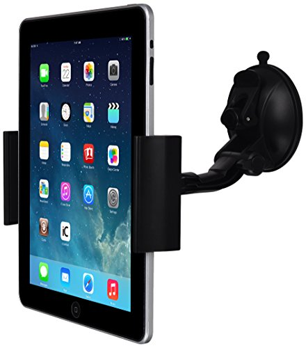 LUXA2 Tablet Clip universal 360° rotation car mount holder for iPad, iPad Mini, Retina, Samsung Galaxy, Microsoft Surface, and Tablet Devices