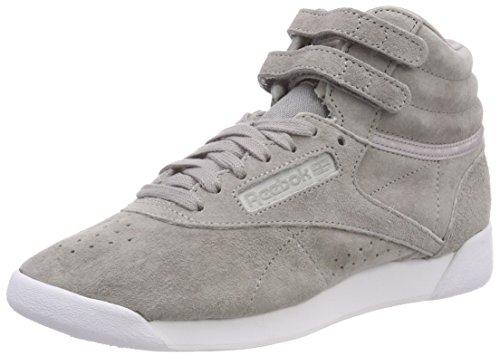 powder Hi 000 Grey Gymnastique F Chaussures white Gris s Aubergine De Reebok Femme Nbk RwgSTqAq