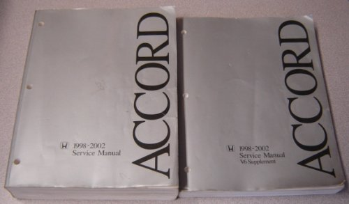 1998 honda accord service manual