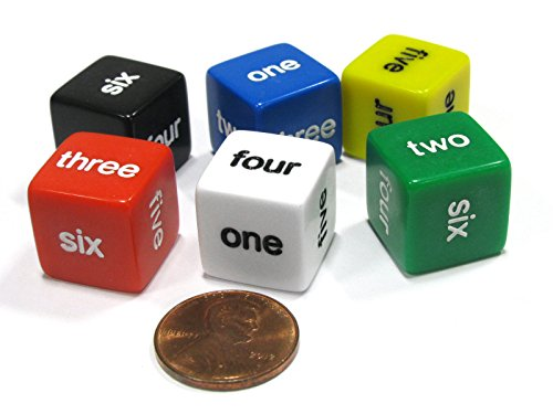 word number dice - 1