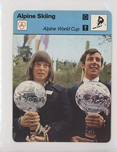 Alpine World Cup Ungraded COMC Good to VG-EX (Trading Card) 1977-79 Sportscasters - Series 06 - Lausanne A - Cup World Alpine