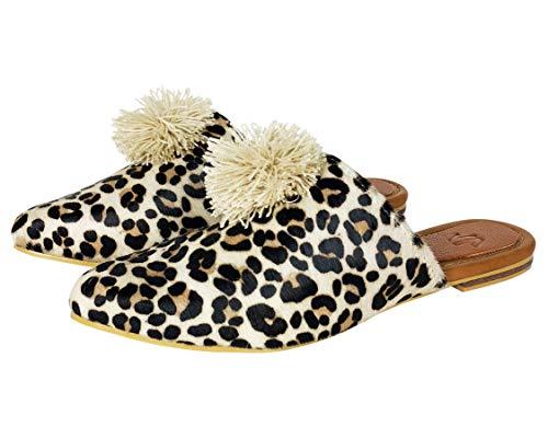 Amazon.com   VIDALeather Mule Pointy Toe Flats for Women   Zapatos Bajitos para Mujer   Loafers & Slip-Ons