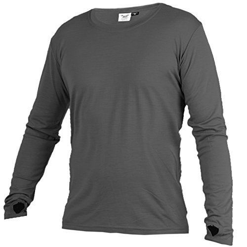 Merino 365 OG Longsleeve with Thumbloops, Large-Tall, Graphite
