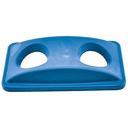 Winco ptcb-23l, Azul Botella/Puede Funda para Slim Papelera de ...