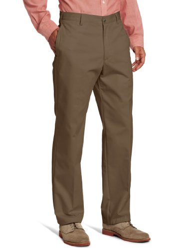 - IZOD Men's American Chino Flat Front Pant, Decaf Coffee, 30W x 32L