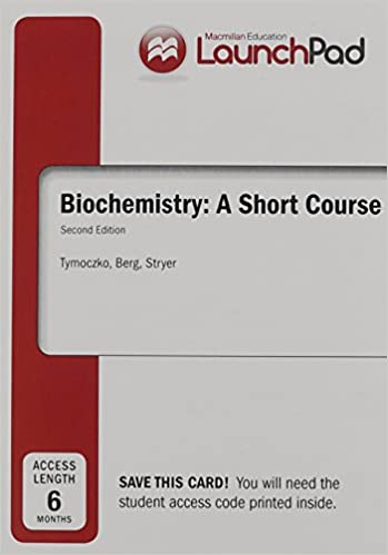 Amazon launchpad for tymoczkos biochemistry a short course 6 launchpad for tymoczkos biochemistry a short course 6 month access 2nd edition fandeluxe Gallery