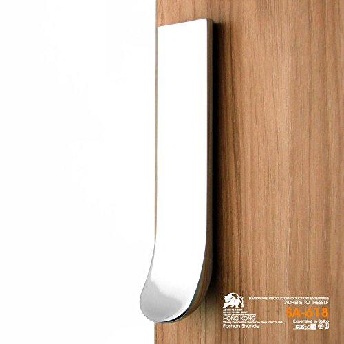(5-pack) VIBORG-HK Top Quality Modern Kitchen Cabinet Cupboard Door Pulls Handles, Drawer Handles Drawer Pulls, Chrome