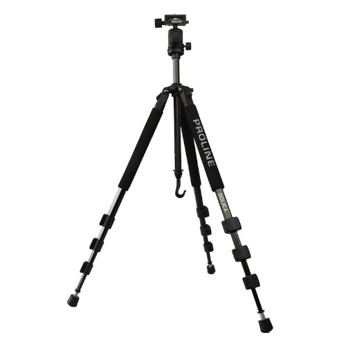 Dolica GX650B204 Proline GX Series 65 inch Aluminum Tripod and Ball Head Combo for DSLR, SLR