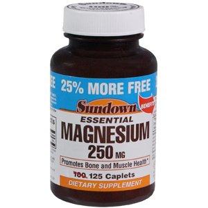 Sun Down 250 mg de magnésium 100 25 125Tablets