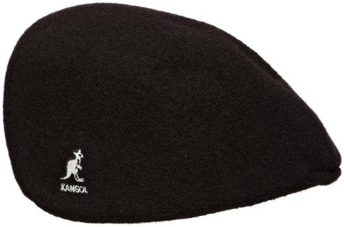 kangol Herren Mütze Seamless Wool 507, Gr. Large (Herstellergröße: Large), Schwarz