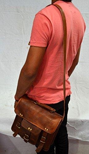 retro nbsp;Bolso bandolera maletín de bandolera piel Hombres bolsas silkroude de nbsp;– Attache de bolso EnxI6qXBw