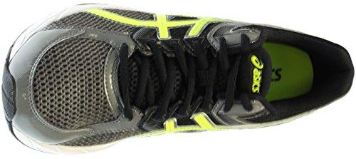 Asics Mens Gel-contend 3 Scarpe Da Corsa Carbon / Flash Giallo / Nero