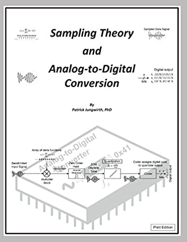 sampling theory, and analog to digital conversion (b w print editionsampling theory, and analog to digital conversion (b w print edition) patrick jungwirth 9781980218890 amazon com books