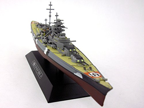 Battleship Bismarck 1/1100 Scale Diecast Metal Model Ship