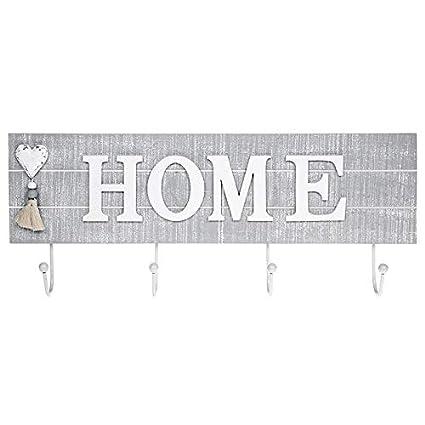 Shudehill Gifts - Perchero, diseño de «Home» (casa en inglés ...
