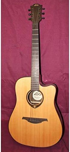 Guitarra Electroacústica lâg Tramontana t400dce ocasión: Amazon.es ...