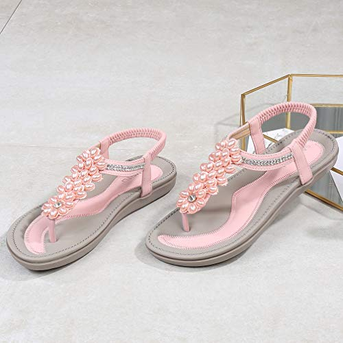 098bf82cc Women s Summer Glitter Thong Flat Sandals