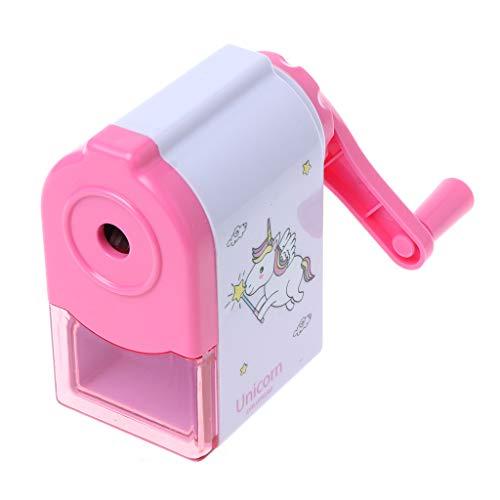 Fmingdou 1Pc Cartoon Print Windmill Pencils Pencil Sharpeners For Kids School Supplies (pink)]()