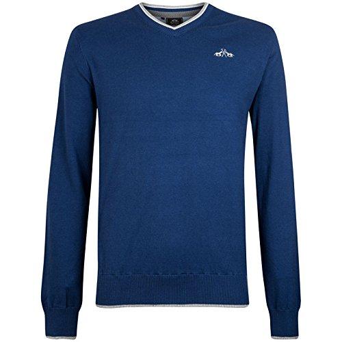 Hv Polo Society Herren Pulli Pullover Shirt Fraser Indigo M L XL XXL