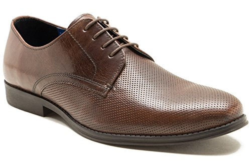 Red Tape Nappa Brown Mens Formal Shoe