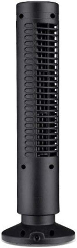 ZHOUYANG Ventilador de la Torre de Control de Confort, Diseño Delgado, Enfriamiento Potente-Blanco/Negro, 1 Paquete, (Color : Negro)