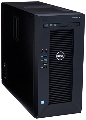2017 Newest Dell PowerEdge T30 Tower Server System| Intel Xeon E3-1225 v5 3.3GHz Quad Core| 8GB RAM | 1TB HDD| DVD RW | No Opera