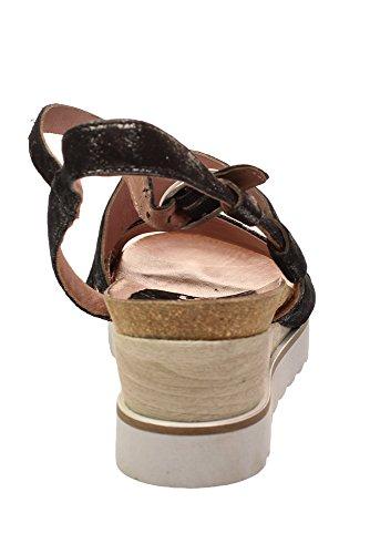 Mjus 221029 0102 - Damen Schuhe Sandaletten - 6002-nero