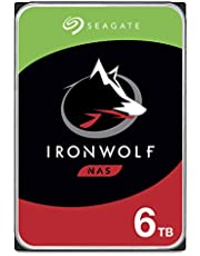 Seagate IronWolf 6TB NAS Internal Hard Drive HDD – 3.5 Inch SATA 6Gb/s 5600 RPM 256MB Cache for RAID Network Attached Storage – Frustration Free Packaging (ST6000VN004)