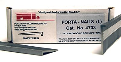 Porta-Nails 4703 16 Gauge 1-3/4-Inch Flooring Nails (1,000 per Box)