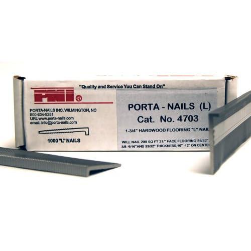 Porta-Nails 4703 16 Gauge 1-3/4-Inch Flooring Nails (1,000 per Box)