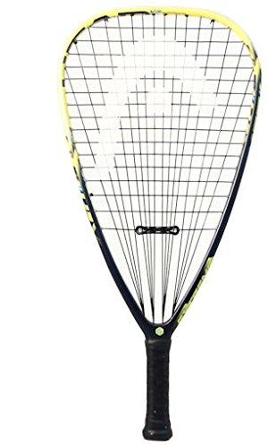 HEAD Graphene Touch Extreme 165 Racquetball Racquet, Strung, 3 7/8 Inch Grip