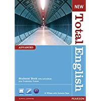 New Total English Advanced Student Book with ActiveBook CD-ROM