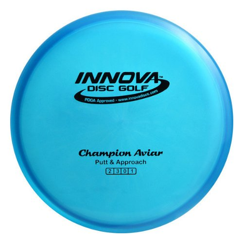 Innova - Champion Discs Aviar Golf Disc, 173-175gm (Colors may vary) Aviar Golf Disc