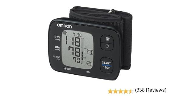 OMRON RS6 - Tensiómetro de muñeca, detección de pulso irregular y ...