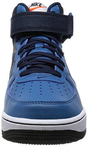 Jordan Nike Kids Air 5 Retro Prem Low Gg Basketbalschoen Obsidiaan / Obsidiaan-brgd Bl-wit