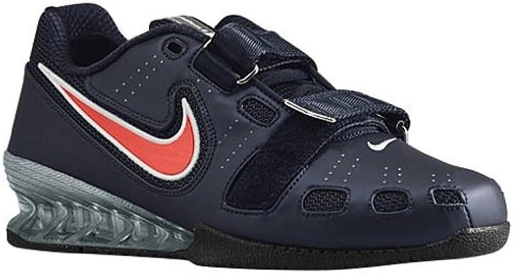 carpintero boicotear Taxi  Nike Romaleos 2 Obsidian Blue Sport Red White Size 8 US: Amazon.ca: Shoes &  Handbags