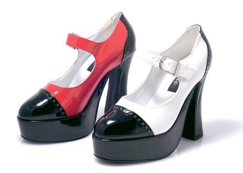 Ellie Zapatos Mujeres Adam Sandal Black & White