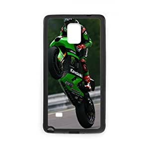 Kawasaki Ninja Motorcycle13 Samsung Galaxy Note 4 Cell Phone Case Black Exquisite designs Phone Case KM446622