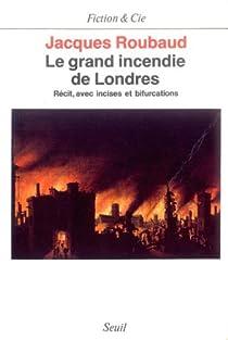 Le grand incendie de Londres par Roubaud