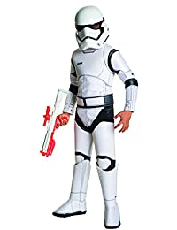 Star Wars Episode VII: The Force Awakens Child's Super Deluxe Stormtrooper Costume, Small