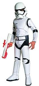 Rubie's Star Wars: The Force Awakens Child's Super Deluxe Stormtrooper Costume, Medium