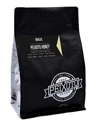 Peixoto Coffee Roasters Peixoto Honey 12oz Honey processed whole bean coffee ()
