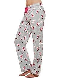 Warm Winter Fleece Lounge Pajama bottom pants