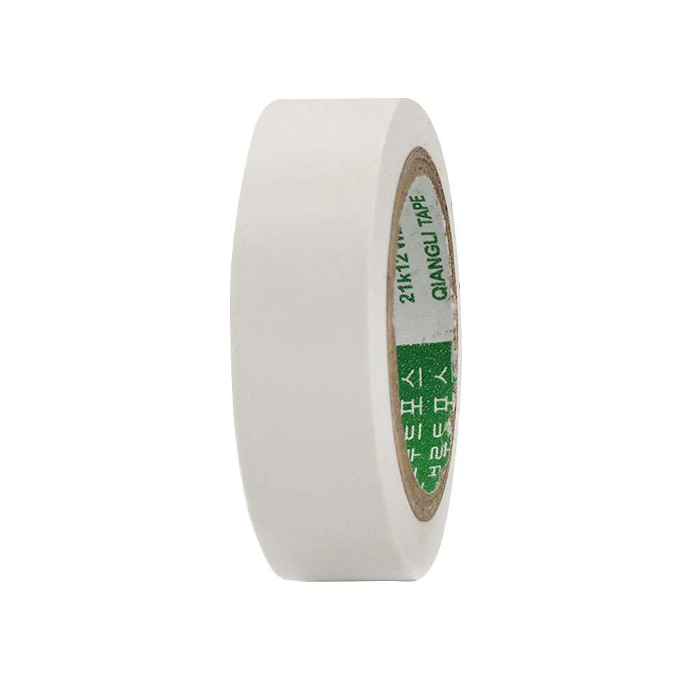 SMARTRICH Elektrisches Isolierband, flammgeschütztes Kunststoffband PVC wasserdicht selbstklebend Bandrolle