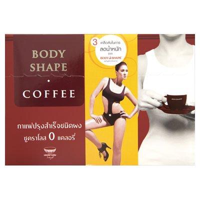 Forme de corps de café instantané Mixte
