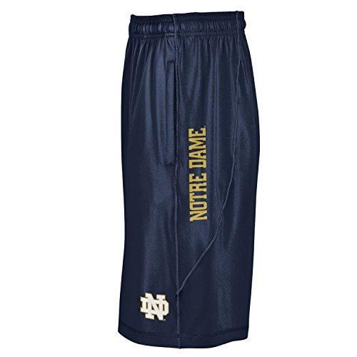 Under Armour NCAA Notre Dame Fighting Irish Men's Raid Shorts, Medium, Navy (Armour Under Ncaa)